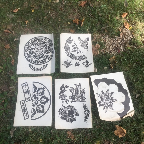Vintage Etching Designs Nature Butterfly Home 5